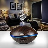 Diffuser, Aroma Diffuser infinitoo 500ML Wal Design Diffusor   Raumbefeuchter Ultraschall mit 7 LED Farbwechsel für Wohnzimmer, Kinderzimmer, Schlafzimmer, Baby, SPA, Büro