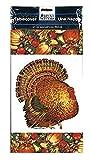 Fall Autumn Turkey Plastic Table Covers