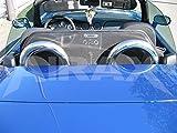 AIRAX Windschott Fiat Barchetta in schwarz