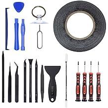 MPTECK @ 20 en 1 Kit de reparación de herramientas de precisión destornillador Herramienta de Desmontaje