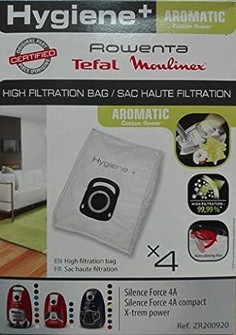 Sacs Haute Filtration x 4zr200920série hygiène + parfumées Aroma Cotton Flower