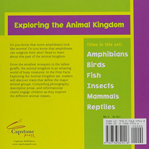 Amphibians (First Facts Exploring the Animal Kingdom)