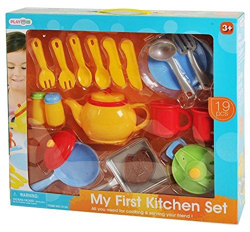 Preisvergleich Produktbild Playgo 3720 - Küchengeschirr 19-teiligSet
