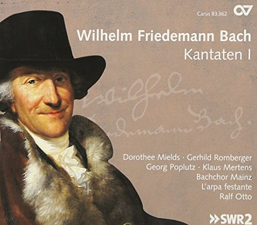 Bach W.F. : Cantates I. Otto.