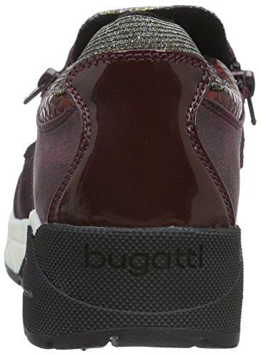 Bugatti J8363pr6n, Baskets Basses Femme Bordeaux (330)
