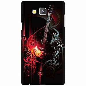 Samsung Galaxy On7 Back Cover - Multicolor Designer Cases Cover By Printland