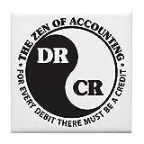 CafePress–Zen von Accounting–Tile Untersetzer, Drink Untersetzer, Untersetzer, Klein