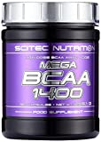 Scitec Mega BCAA 1400 180 Kapseln, 1er Pack (1 x 256 g)