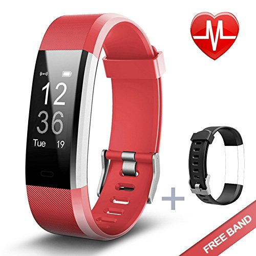 KG Physio Fitness Trackers Watch HR Smart Band feat  Heart Rate Monitoring,  Activity Tracker, GPS Tracking, Sports Mode, Steps Counter, Sleep monitor