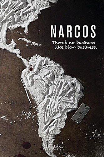 """Póster Narcos """"There's No Business Like Blow Business"""" (61cm x 91,5cm) + 1 póster sorpresa de regalo"""