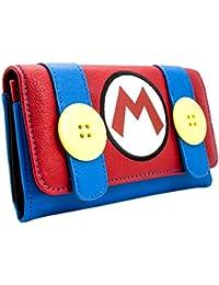 Klempner Kostüm Rot Portemonnaie Geldbörse Super Mario Bros