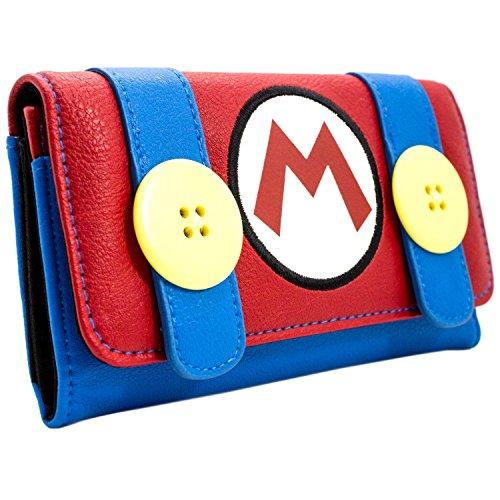 Super Mario Bros. Klempner Kostüm Rot Portemonnaie Geldbörse (Film Und Kostüm Design)