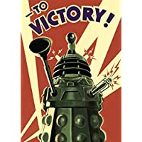 Dr Who Daleks To Victory Tv Show A4 Poster / Print / Picture 280GSM Satin Photo Paper