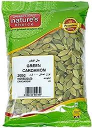 Natures Choice Green Cardamom Whole - 200 gm