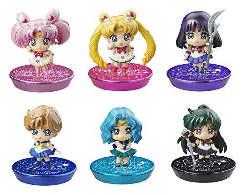 Serie Petit Chara! Sailor Moon nouveau compagnon et transforme par! Hen GLITTERver. BOX