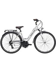 28pulgadas bicicleta de trekking mujer 24velocidades Cinzia Crystal
