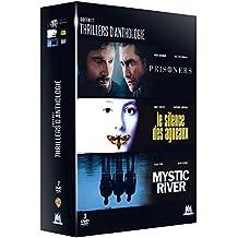 Coffret thrillers d'anthologie : Prisoners + Mystic River + Le silence des agneaux