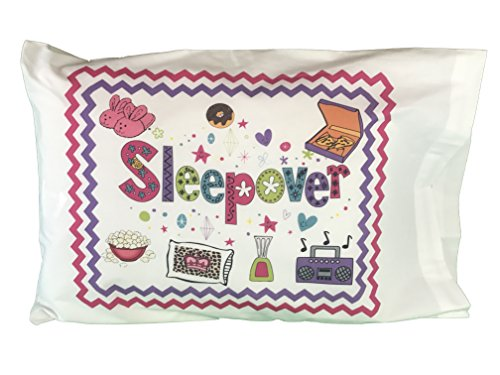 Fun Sleepover Autogramm, Standard Kissenbezug mit Stift (Sleepover Favors Party)