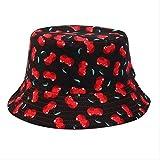 TRFGF cappelloColore Solido Bucket Cappelli Ombreggiatura Berretto Piatto Pesca All'aperto Caccia Pescatore Cuffia Pieghevole Una Taglia 11 del Sistema di