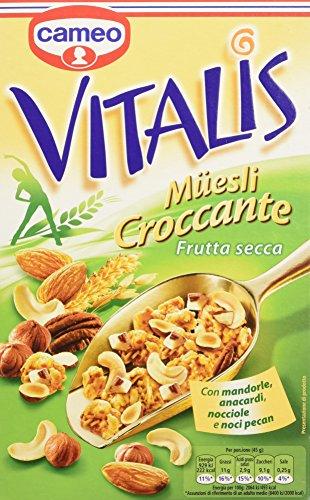 Vitalis muesli croccante frutta secca 300 g