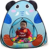 Toys Bhoomi Kid's Polyester Fabric Zumbo Sized Tent with Basketball Hoop (Multicolour, 995-7010-3A1)