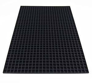 La Manufacture du Pixel Tapis tramé support à pixels (Noir) - Pixel Art, Loisir Créatif, Mosaïque, Fun ! - Créez à l'infini tout l'art qui vous ressemble