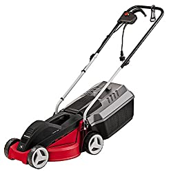 Einhell GC-EM 1030 1000 W Electric Rotary Lawnmower with 30 cm Cutting Width - Red and Black