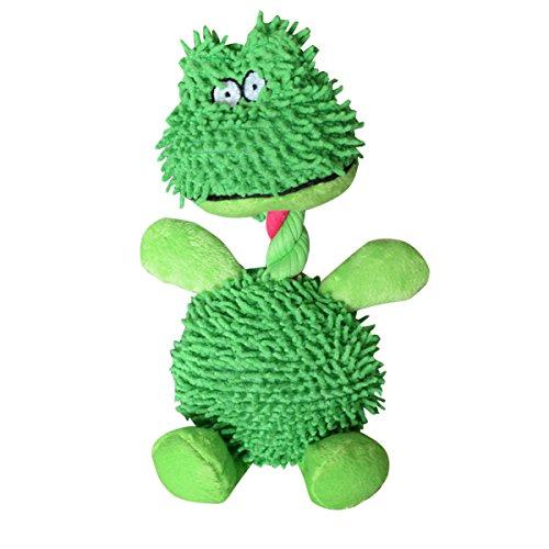 SODIAL 1 Stueck Soft Frosch Tier Haustier Doy Spielzeug Kauen Squeaker Sound Spielzeug Fuer Hund Interaktives Spielzeug -