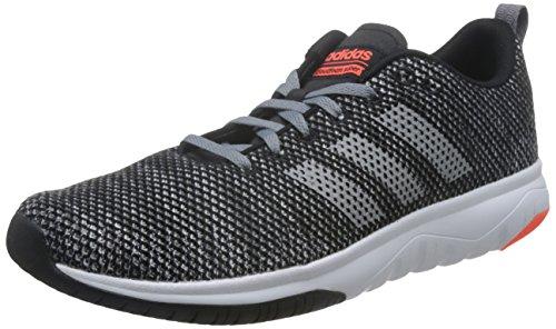 adidas Herren CF Superflex Gymnastikschuhe Schwarz (Core Black/grey Three F17/solar Red)