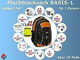 Fluchtrucksack - Notgepäck - Survivalbag - Notfallrucksack - Go Bag (fertiges Set)