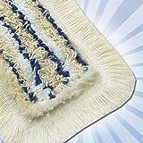 5x Bodenwischer Wischmop 50cm Wischbezug Premium Baumwolle
