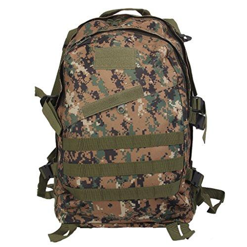 Imagen de 3d bolsa de viaje táctica senderismo  de escuela militar a prueba de agua 40l  selva digital, /