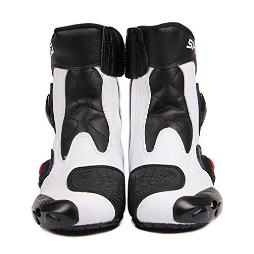 LKN, Stivali protettivi per caviglie per motociclisti, equipaggiamento protettivo per corse in moto