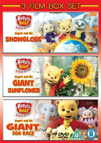 Rupert The Bear: Snowglobe/Giant Egg Race/Giant Sunflower [DVD]