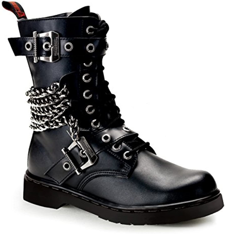Demonia Veggie Military Punk Stiefel Defiant 204Demonia Military Stiefel Defiant 204 mattschwarz Billig und erschwinglich Im Verkauf
