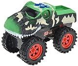 hibuy Spielzeug Monster Truck Dinosaurier mit Sound und Fahrfunktion Gruen