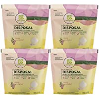 Grab Green Garbage Disposal Cleaner and Freshener, Thyme with Fig Leaf (4 Pack)
