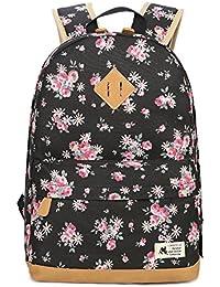 Mochila Escolar de Ocio Impresión Moderna Mochilas Escolares Juveniles Lona Bolsa Casual Backpack de Viaje para
