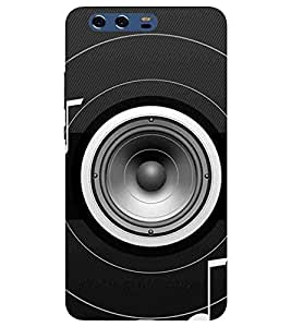 For Huawei P10 Plus music sound ( ) Printed Designer Back Case Cover By CHAPLOOS