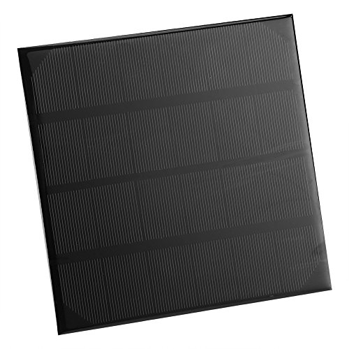6 V 4,5 Watt Protable Monokristalline Silizium Solar Panel Kit Ladegerät Modul für DIY Ladegerät Netzteil