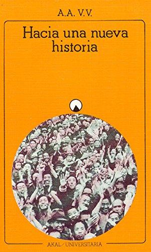 Descargar Libro Hacia una nueva Historia (Universitaria) de Autores Varios