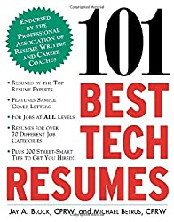 101 Best Tech Resumes by Jay A. Block (2002-12-06)