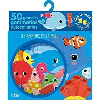 Gommettes pour les petites mains : Les animaux de la mer - Dès 18 mois