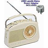 Compact Size Retro Radio 1950's