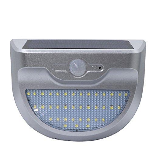 Super Bright Wandleuchte 37LED 3,5 Watt Wasserdichte LED Einfach zu installierende Sicherheitslichter Solar Licht Lampen Gartenleuchten Outdoor Landschaft Rasen Lampe Solar Wandleuchten (1 stücke) Auß