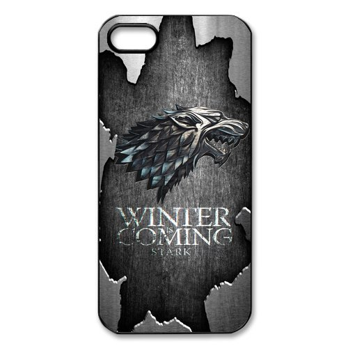 Sottile Apple iPhone 5/5S pollici Game of Thrones cover rigida, Protection Case Protective Cover Handytasche accessori per Apple iPhone 5/5S