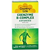 Country Life - Coenzyme B-Complex Advanced 60 Capsules Végétales