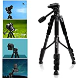 Portable Flexible Camera Tripod 4 Sections Stand For DSLR PESTE