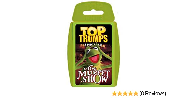 DIE MUPPETS NEU Winning Moves 61243 Top Trumps