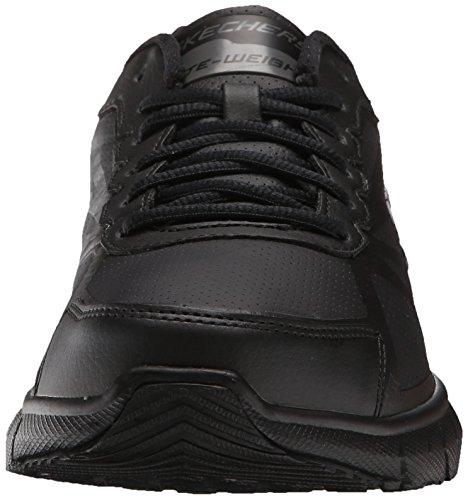 Skechers Sport Mens Soleus Oxford, Black, 11 M US Black